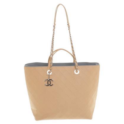 Chanel Camelfarbener Shopper