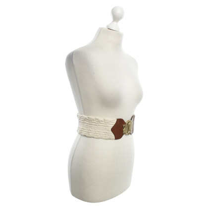 Etro Waist belt with decorative buckle