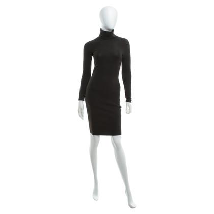 Marc Cain Knit dress in dark brown