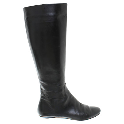 Fratelli Rossetti Leather boots in black