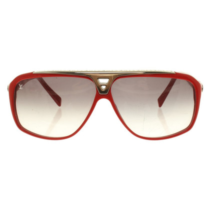 Louis Vuitton Sunglasses in red