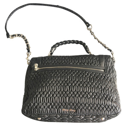Miu Miu Shoulder bag made of matelassé leather