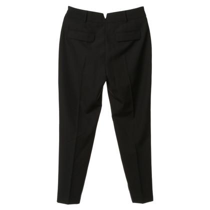 Alexander Wang Plooi broek in zwart
