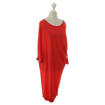 Alexander McQueen Trui jurk in rood