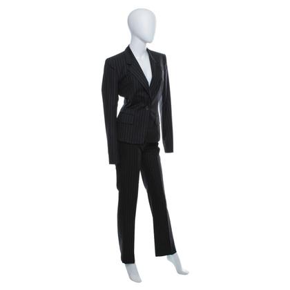 Yves Saint Laurent Vestito di pantaloni con strisce