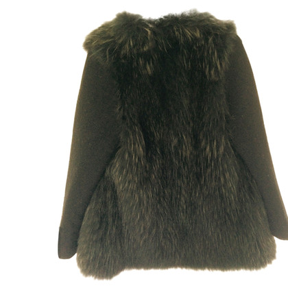 P.A.R.O.S.H. Jacket with fur trim