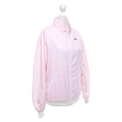 Lacoste Blouson in pink / white