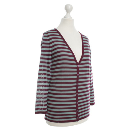 Alberta Ferretti Cardigan with stripes