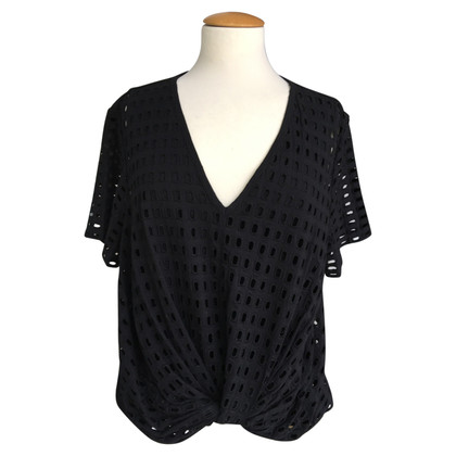 Carven top with lace pattern