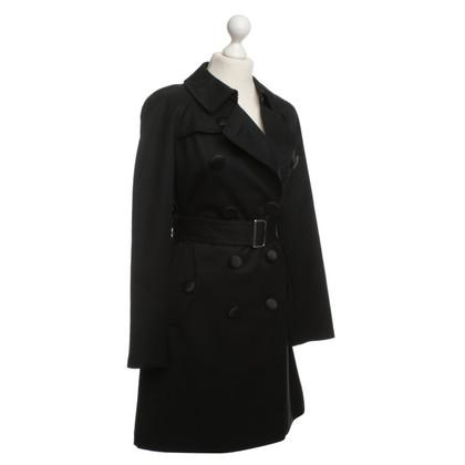 Comme des Garçons for H&M Trench coat in black