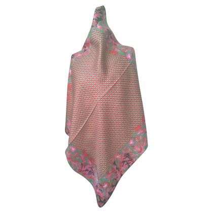 Nina Ricci silk carré scarf