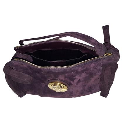 Gucci clutch in violet