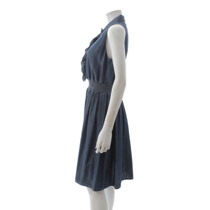 Prada Sleeveless denim dress