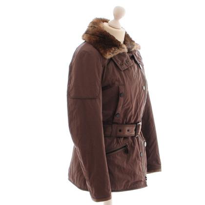 Cinque Jacket with fur collar