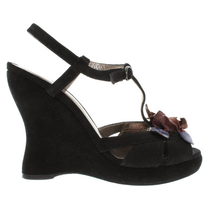 Bottega Veneta Sandals in black
