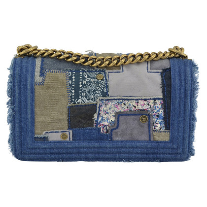 Chanel Denim Patchwork Boy Flap Bag