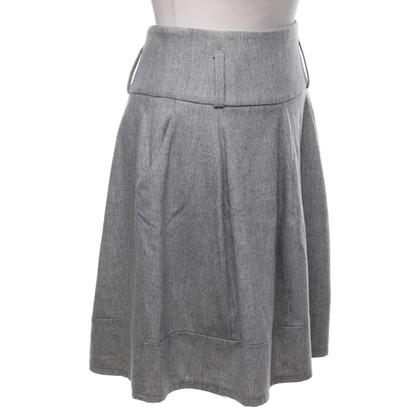 Gunex Wool skirt in grey