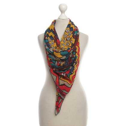 Missoni Silk scarf with pattern
