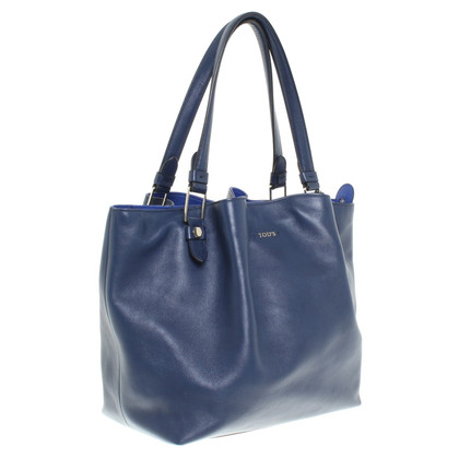 Tod's Leather handbag in blue