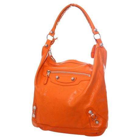 Balenciaga Hobo Bag Orange Amazon Verkauf Online Angebote Online ojwXddA