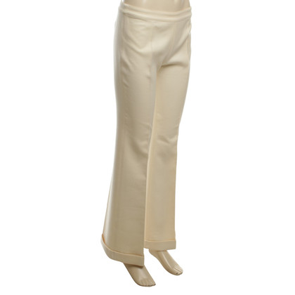 Balenciaga Wool trousers in cream