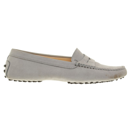 Tod's Slipper in blue gray