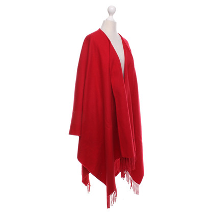 Moschino Poncho in Rot