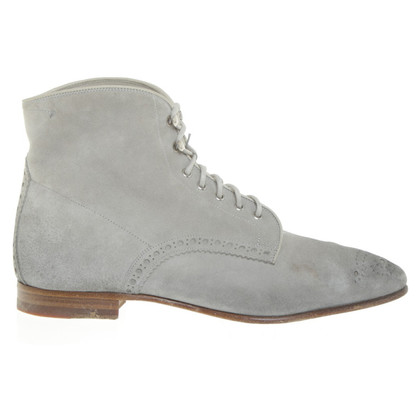 Santoni Bottines en daim