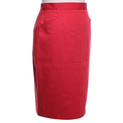 Burberry Pencil skirt in red