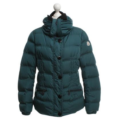 Moncler Down jacket in dark green