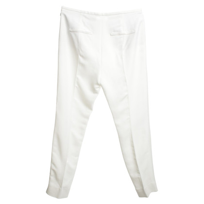 Schumacher trousers in cream