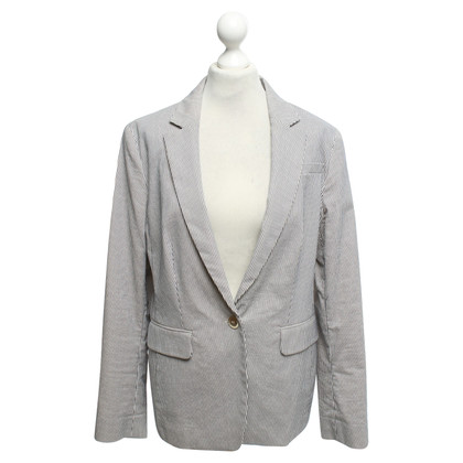 Aigner Blazer in cream / dark blue