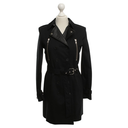 The Kooples Trench in nero