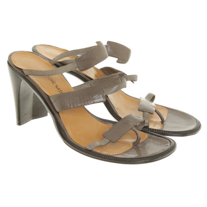 Costume National Sandals in Gray