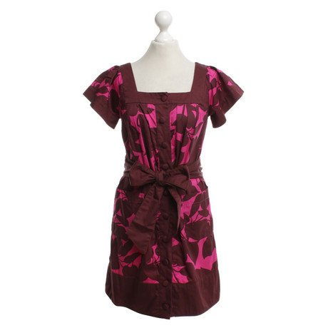 French Connection Connection Kleid mit floralem Bunt Muster Kleid French Muster FFwrHqR6