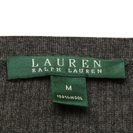 Grau Grau Lauren Ralph Ralph Lauren Cardigan Polo Polo in wvqAwO0xB