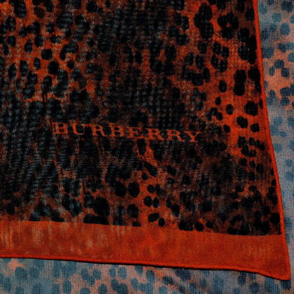 Burberry  XL silk scarf with pattern