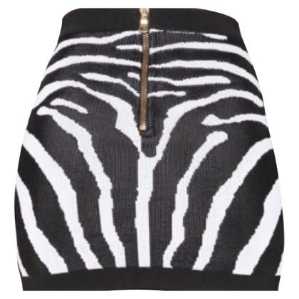 Balmain Zebra stampa lavorato a maglia