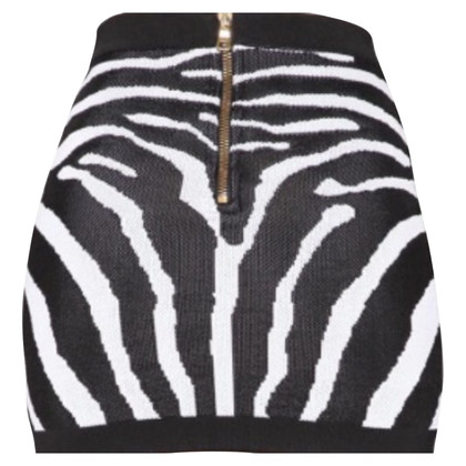Balmain Zebra print knitted