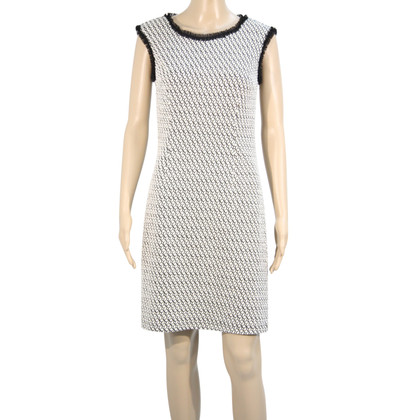 Cynthia Rowley Kleid in Schwarz/Weiß