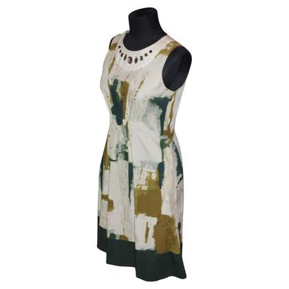Vera Wang Cocktail jurk met edelstenen