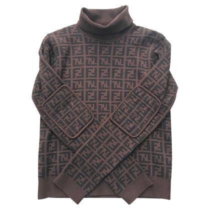 Fendi Pullover mit Logo-Muster
