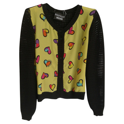 Moschino Strickjacke in Multicolor