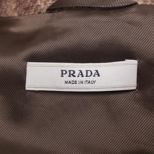 2141fc562fd9c Prada Mantel mit Mohair-Anteil - Second Hand Prada Mantel mit Mohair ...