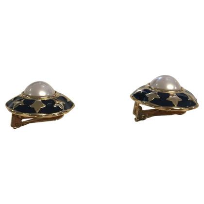 Burberry Clips d'oreilles avec perle