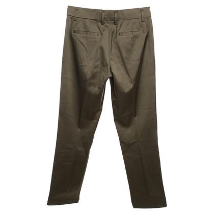 René Lezard Scintillanti pantaloni kaki