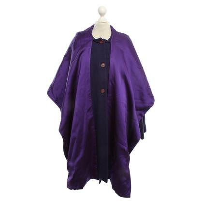 Dolce & Gabbana Mantel/Cape in Violett