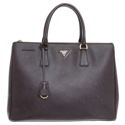 Prada Handtasche in Bordeaux