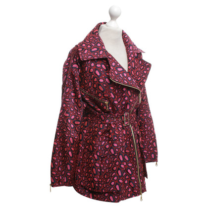Kenzo Short coat in tricolor