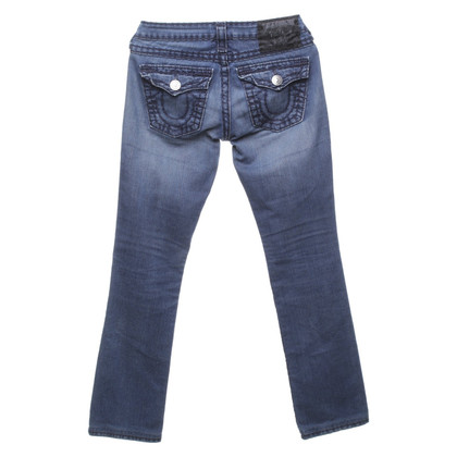 True Religion Jeans in blu scuro
